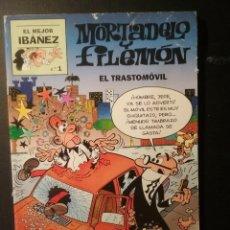 Tebeos: EL MEJOR IBAÑEZ - MORTADELO Y FILEMON N1. Lote 232319010
