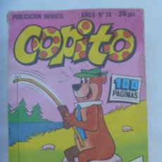 Tebeos: PUBLICACION JUVENIL COPITO , Nº 36 . DE HANNA - BARBERA , BRUGUERA. Lote 232404385