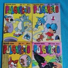 Tebeos: 4 COMICS PULGARCITO. AÑO I: N° 2-3-4 (1981) AÑO III: N° 109 (1983). 2ª ÉPOCA. Lote 232420520