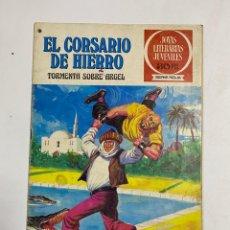BDs: EL CORSARIO DE HIERRO.TORMENTA SOBRE ARGEL.JOYAS LITERARIAS JUVENILES Nº 49.EDITORIAL BRUGUERA. 1978. Lote 232475530