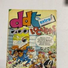 BDs: DDT. ZOOO LOCURAS. EXTRA. AÑO XXXIII. NOVIEMBRE 1984. EDITORIAL BRUGUERA.. Lote 232492915