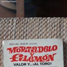 Tebeos: ASES DEL HUMOR 04 MORTADELO Y FILEMON VALOR Y AL TORO. Lote 232589775
