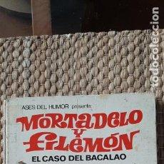 Tebeos: ASES DEL HUMOR 05 MORTADELO Y FILEMON EL CASO DEL BACALAO. Lote 232589780