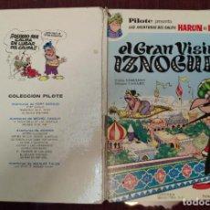 Tebeos: PILOTE PRESENTA EL GRAN VISIR IZNOGUD Nº 1 - GOSCINY Y TABARY (BRUGUERA 1969). Lote 232596120