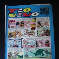 Tebeos: TIO VIVO (1961, BRUGUERA) 439 · 4-VIII-1969 · TIO VIVO. Lote 232667545
