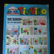 Tebeos: TIO VIVO (1961, BRUGUERA) 208 · 1-III-1965 · TIO VIVO. Lote 232668150