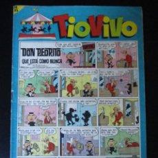 Tebeos: TIO VIVO (1961, BRUGUERA) 207 · 22-II-1965 · TIO VIVO. Lote 232668295