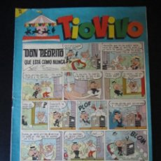Tebeos: TIO VIVO (1961, BRUGUERA) 202 · 18-I-1965 · TIO VIVO. Lote 232670710