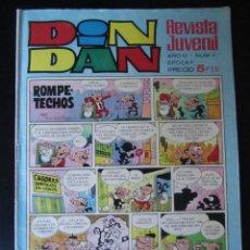 Livros de Banda Desenhada: DIN DAN (1968, BRUGUERA) -EPOCA II- 91 · 10-XI-1969 · DIN DAN. Lote 232671110