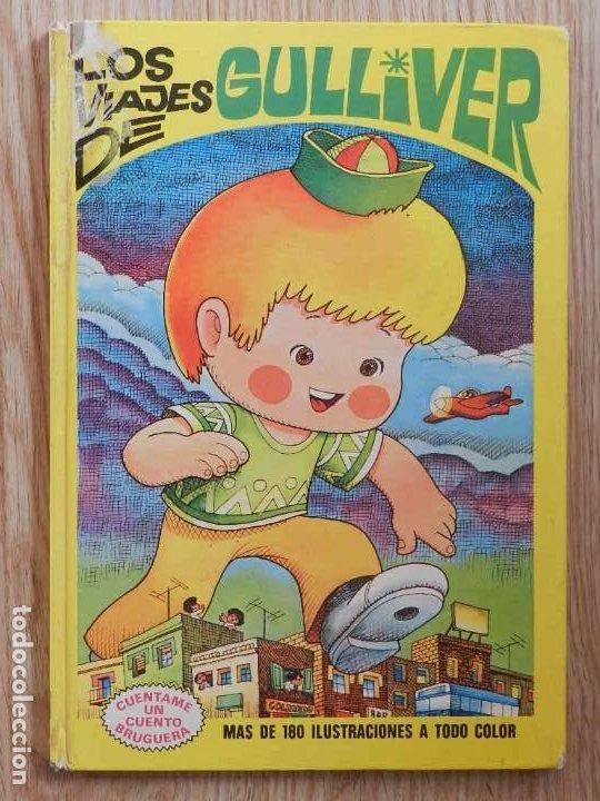 LOS VIAJES DE GULLIVER CUÉNTAME UN CUENTO 4 BRUGUERA 1974 JAN LILIPUT TORTUGA LIEBRE BARON CASTAÑA (Tebeos y Comics - Bruguera - Otros)