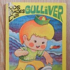 Tebeos: LOS VIAJES DE GULLIVER CUÉNTAME UN CUENTO 4 BRUGUERA 1974 JAN LILIPUT TORTUGA LIEBRE BARON CASTAÑA. Lote 232684120