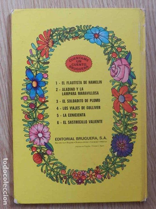 Tebeos: Los viajes de Gulliver Cuéntame un cuento 4 BRUGUERA 1974 JAN liliput tortuga liebre baron castaña - Foto 2 - 232684120