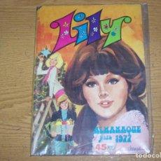 BDs: LILY ALMANAQUE PARA 1977 POSTER MIGUEL GALLARDO. Lote 232707720