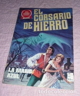 Tebeos: EL CORSARIO DE HIERRO Nº 1. SERIE ROJA. JOYAS LITERARIAS JUVENILES. BRUGUERA. LA MANO AZUL - Foto 6 - 232708250