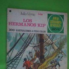 Tebeos: JOYAS LITERARIAS JUVENILES NUMERO 158, LOS HERMANOS KIP. Lote 232716930