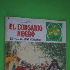 Tebeos: JOYAS LITERARIAS JUVENILES NUMERO 184, EL CORSARIO NEGRO. Lote 232745155