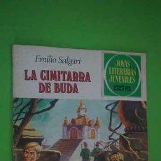 Tebeos: JOYAS LITERARIAS JUVENILES NUMERO 225, LA CIMITARRA DE BUDA. Lote 232755200