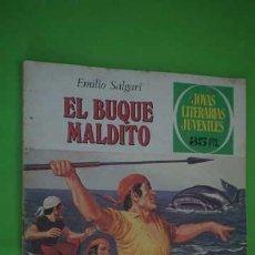 Tebeos: JOYAS LITERARIAS JUVENILES NUMERO 226, EL BUQUE MALDITO. Lote 232755690