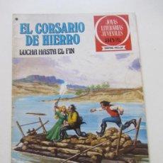 BDs: EL CORSARIO DE HIERRO Nº 45 JOYAS LITERARIAS JUVENILES. BRUGUERA SERIE ROJA AX40. Lote 232779640