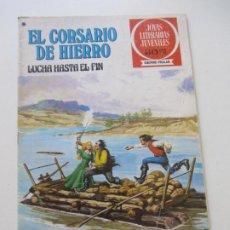 BDs: EL CORSARIO DE HIERRO Nº 45 JOYAS LITERARIAS JUVENILES. BRUGUERA SERIE ROJA AX40. Lote 232779647