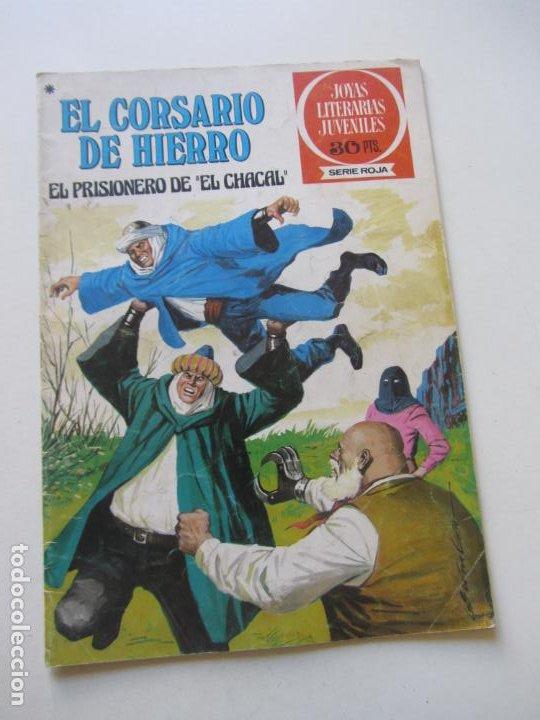 EL CORSARIO DE HIERRO Nº 47 JOYAS LITERARIAS JUVENILES. BRUGUERA SERIE ROJA AX40 (Tebeos y Comics - Bruguera - Corsario de Hierro)
