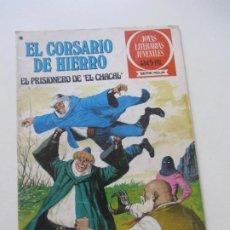 Tebeos: EL CORSARIO DE HIERRO Nº 47 JOYAS LITERARIAS JUVENILES. BRUGUERA SERIE ROJA AX40. Lote 232779673