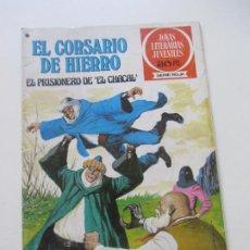 Tebeos: EL CORSARIO DE HIERRO Nº 47 JOYAS LITERARIAS JUVENILES. BRUGUERA SERIE ROJA AX40. Lote 232779685