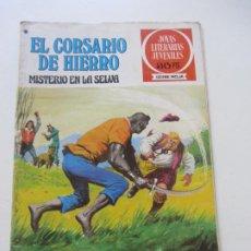 Tebeos: EL CORSARIO DE HIERRO Nº 48 JOYAS LITERARIAS JUVENILES. BRUGUERA SERIE ROJA AX40. Lote 232779700