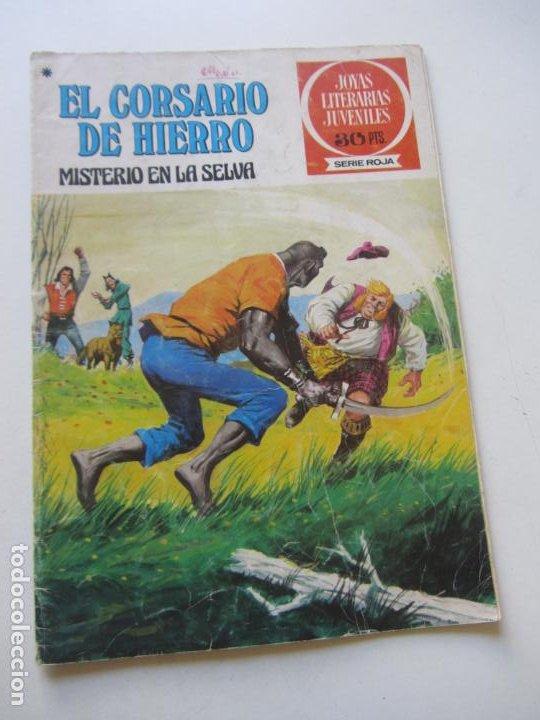 EL CORSARIO DE HIERRO Nº 48 JOYAS LITERARIAS JUVENILES. BRUGUERA SERIE ROJA AX40 (Tebeos y Comics - Bruguera - Corsario de Hierro)