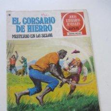 Tebeos: EL CORSARIO DE HIERRO Nº 48 JOYAS LITERARIAS JUVENILES. BRUGUERA SERIE ROJA AX40. Lote 232779705