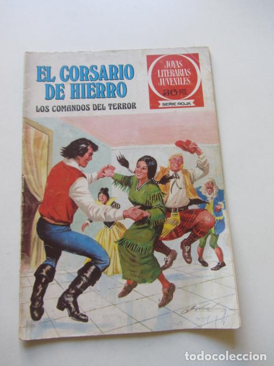 EL CORSARIO DE HIERRO Nº 31 JOYAS LITERARIAS JUVENILES. BRUGUERA SERIE ROJA AX40 (Tebeos y Comics - Bruguera - Corsario de Hierro)