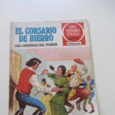 Tebeos: EL CORSARIO DE HIERRO Nº 31 JOYAS LITERARIAS JUVENILES. BRUGUERA SERIE ROJA AX40. Lote 232779740
