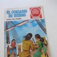 BDs: EL CORSARIO DE HIERRO Nº 30 JOYAS LITERARIAS JUVENILES. BRUGUERA SERIE ROJA AX40. Lote 232779760