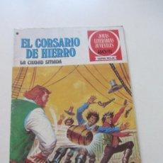 BDs: EL CORSARIO DE HIERRO Nº 44 JOYAS LITERARIAS JUVENILES. BRUGUERA SERIE ROJA AX40. Lote 232779775
