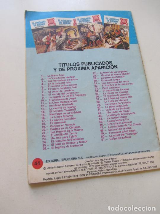 Tebeos: EL CORSARIO DE HIERRO Nº 44 JOYAS LITERARIAS JUVENILES. BRUGUERA SERIE ROJA AX40 - Foto 2 - 232779780