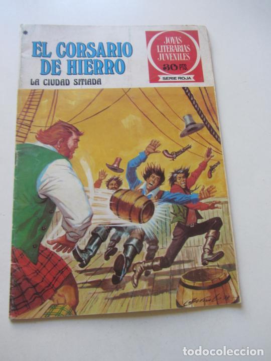 EL CORSARIO DE HIERRO Nº 44 JOYAS LITERARIAS JUVENILES. BRUGUERA SERIE ROJA AX40 (Tebeos y Comics - Bruguera - Corsario de Hierro)