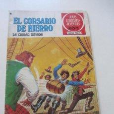 Tebeos: EL CORSARIO DE HIERRO Nº 44 JOYAS LITERARIAS JUVENILES. BRUGUERA SERIE ROJA AX40. Lote 232779780