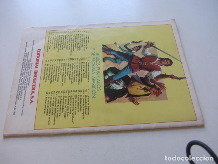 Tebeos: EL CORSARIO DE HIERRO Nº 6 JOYAS LITERARIAS JUVENILES. BRUGUERA SERIE ROJA AX40 - Foto 2 - 232779830