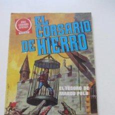 Tebeos: EL CORSARIO DE HIERRO Nº 6 JOYAS LITERARIAS JUVENILES. BRUGUERA SERIE ROJA AX40. Lote 232779830
