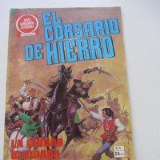 BDs: EL CORSARIO DE HIERRO Nº 55 JOYAS LITERARIAS JUVENILES. BRUGUERA SERIE ROJA AX40. Lote 232779865