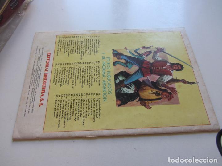 Tebeos: EL CORSARIO DE HIERRO Nº 55 JOYAS LITERARIAS JUVENILES. BRUGUERA SERIE ROJA AX40 - Foto 2 - 232779875