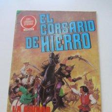 Tebeos: EL CORSARIO DE HIERRO Nº 55 JOYAS LITERARIAS JUVENILES. BRUGUERA SERIE ROJA AX40. Lote 232779875