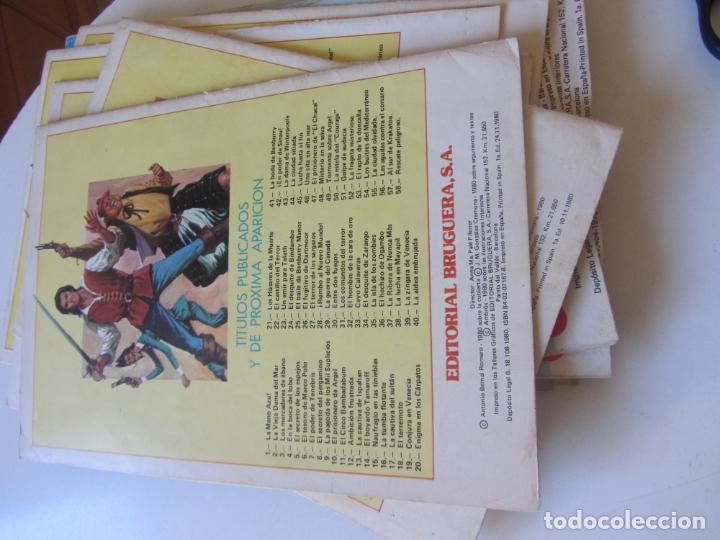 Tebeos: EL CORSARIO DE HIERRO Nº 56 JOYAS LITERARIAS JUVENILES. BRUGUERA SERIE ROJA AX40 - Foto 2 - 232779911
