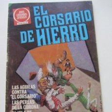 Tebeos: EL CORSARIO DE HIERRO Nº 56 JOYAS LITERARIAS JUVENILES. BRUGUERA SERIE ROJA AX40. Lote 232779911