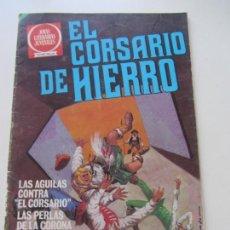 BDs: EL CORSARIO DE HIERRO Nº 56 JOYAS LITERARIAS JUVENILES. BRUGUERA SERIE ROJA AX40. Lote 232779915