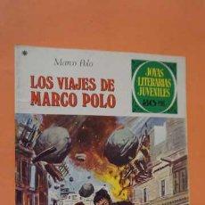 Tebeos: JOYAS LITERARIAS JUVENILES NUMERO 166, LOS VIAJES DE MARCO POLO. Lote 232917800