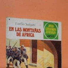 Tebeos: JOYAS LITERARIAS JUVENILES NUMERO 181, EN LAS MONTAÑAS DE AFRICA. Lote 232917980