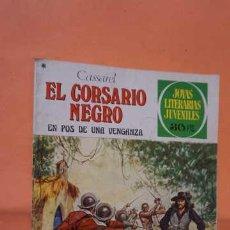 Tebeos: JOYAS LITERARIAS JUVENILES NUMERO 184, EL CORSARIO NEGRO. Lote 232918050