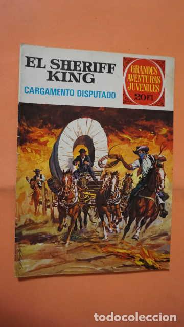 GRANDES AVENTURAS JUVENILES EL SHERIFF KING NUMERO 8 CARGAMENTO DISPUTADO (Tebeos y Comics - Bruguera - Sheriff King)