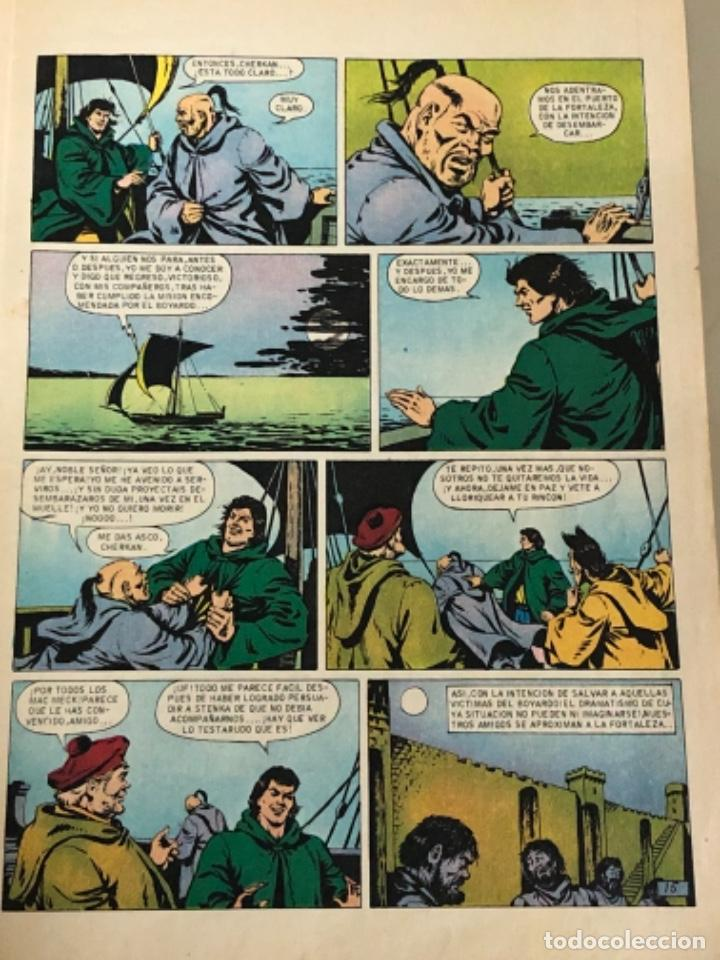 Tebeos: Joyas literarias Juveniles serie roja N 14, El corsario de hierro-El boyardo Tamaroff - Foto 3 - 233110310